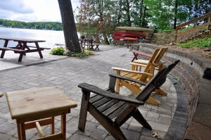 Waterfront Patio and Deck